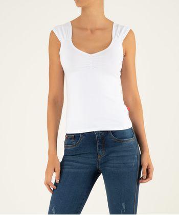 Camiseta-Manga-Sisa-Recogido-En-Escote-11045813-Blanco_1
